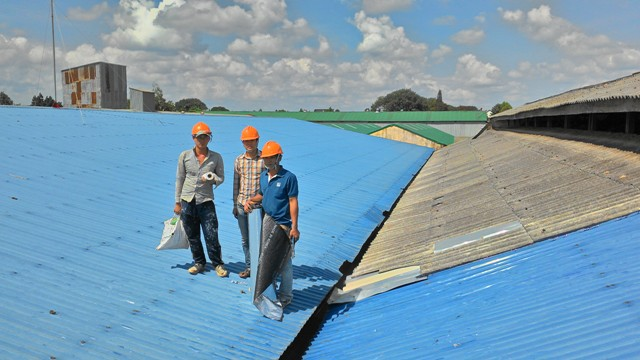 Chống Thấm - Dột Nhà Mái Tôn TPHCM