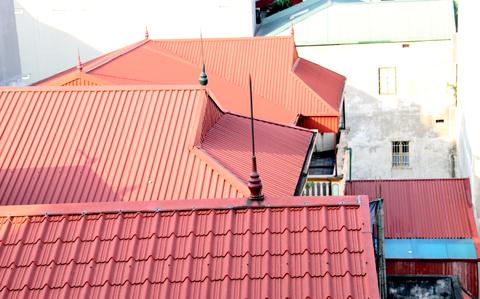 Sửa chữa mái tôn ở Tp HCM