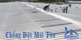 Thợ chống dột mái tôn ở tại TPHCM
