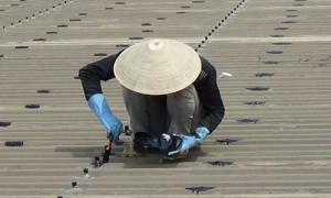 Thợ chuyên chống dột mái tôn tại quận 1