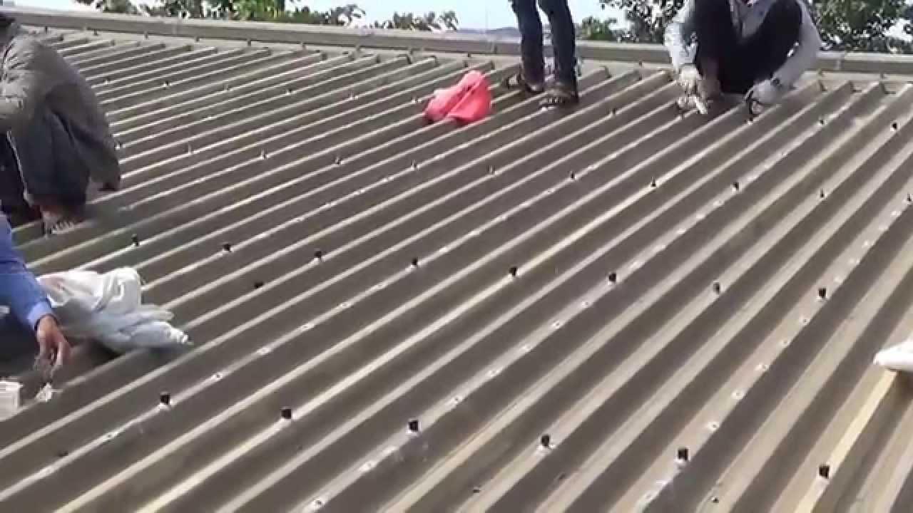 Thợ chuyên chống thấm dột mái tôn ở tại quận 10