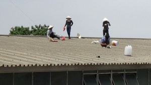 Thợ chuyên chống thấm dột mái tôn ở tại quận 11