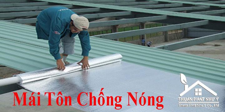 Mái tôn chống nóng tại TPHCM