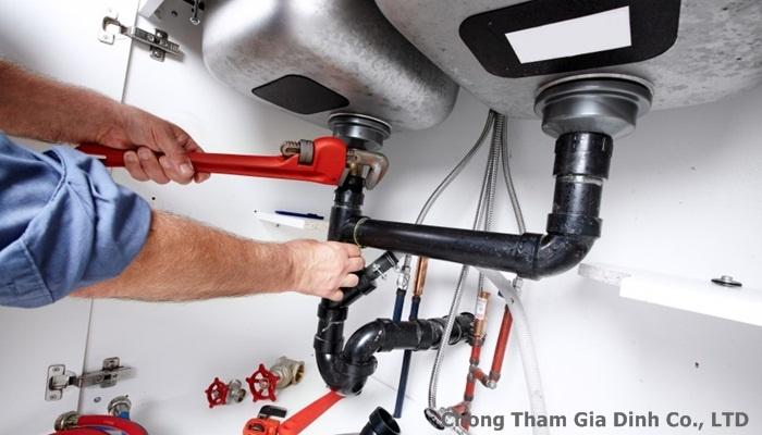 Sửa chữa ống nước quận 10