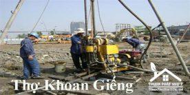 Thợ khoan giếng tại TPHCM