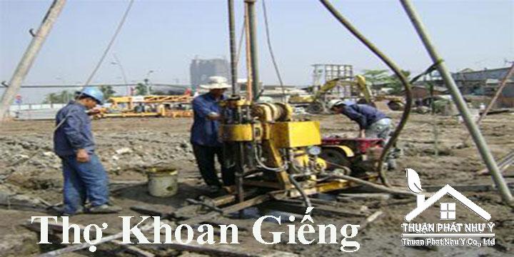 Thợ khoan giếng tại TPHCM, Bình Dương, Đồng Nai