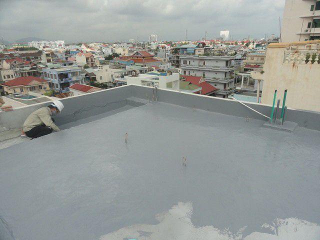 Chống thấm sàn mái tại tphcm