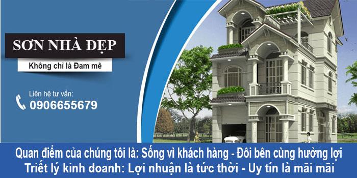 Dịch vụ sơn nhà ở TPHCM giá rẻ