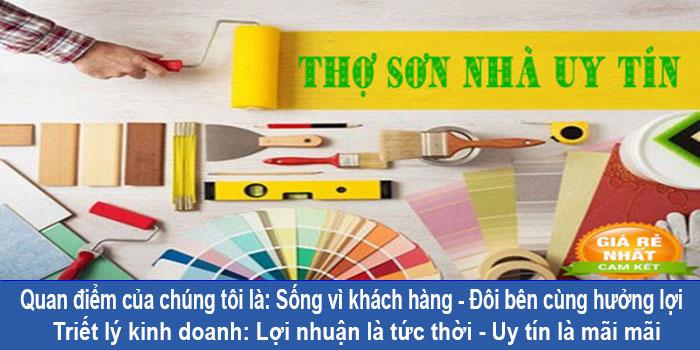 Thợ chuyên sơn nhà ở quận 10 chuyên nghiệp