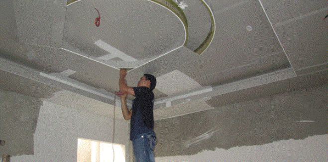 Thợ sửa trần thạch cao tại quận 10