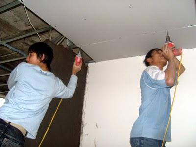 Thợ sửa trần thạch cao tại quận 9
