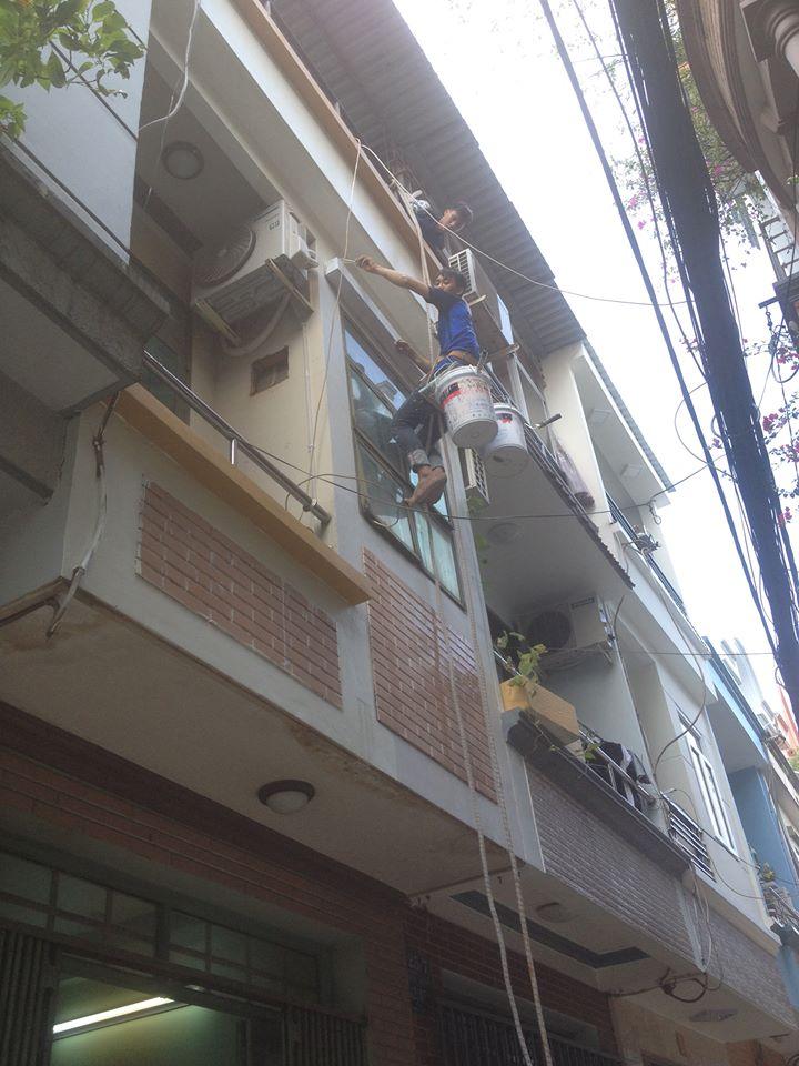 Công trình sơn sửa nhà tại 25/5 Đường 44,P14, Gò Vấp