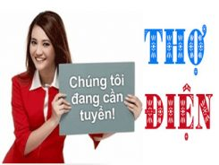 Công Ty Thuận Phát Như Ý Tuyển Thợ Điện