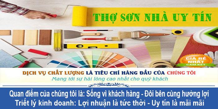 Dịch vụ thợ sơn nhà tại quận Bình Tân giá rẻ