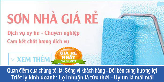 Dịch vụ thợ sơn nhà tại quận Bình Tân uy tín