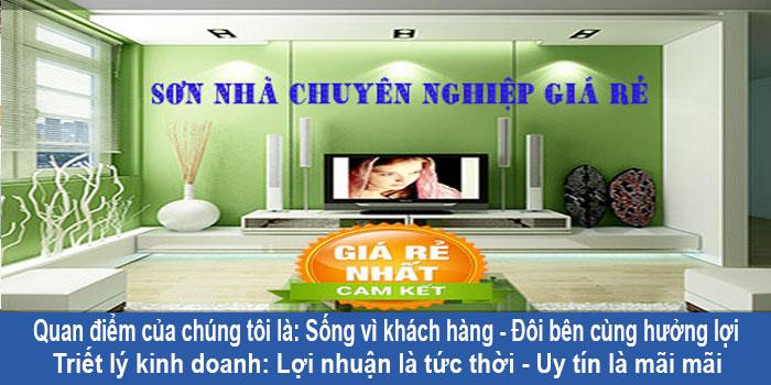 Dịch vụ thợ sơn nhà tại quận Tân Phú uy tín