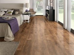 Nên làm sàn nhựa hay sàn gỗ công nghiệp cho nhà ở dân dụng khi có ít kinh phí ?