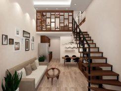 Kinh nghiệm để đời khi thiết kế cầu thang đẹp cho nhà gác lửng