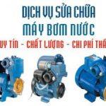 Dịch vụ sửa máy bơm nước tại biên hoà