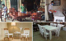 Thợ phun sơn đồ gỗ nội thất tại TPHCM