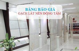 Báo giá Gạch Đồng Tâm