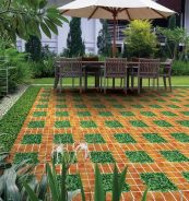 Báo giá gạch lát sân vườn