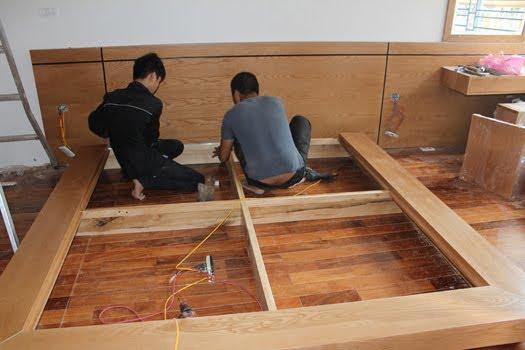 sửa chữa tủ gỗ tại nhà