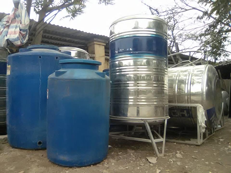 Hàn bồn nước Inox, nhựa