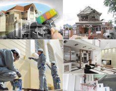 Sửa chữa công trình dân dụng và công nghiệp