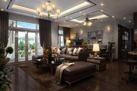 Phòng khách đẹp được thiết kế với nhiều phong cách khác nhau