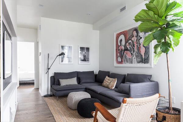 Trang trí cho phòng khách nhỏ tiết kiệm không gian
