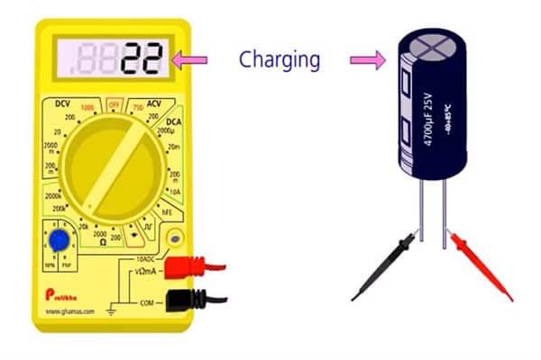 Cách kiểm tra tụ điện thật đơn giản, an toàn