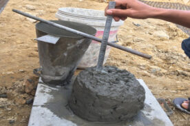 Độ sụt bê tông là gì? Vì sao cần phải kiểm tra độ sụt của bê tông?