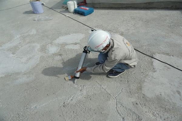 Cách xử lý vết nứt bê tông sàn mái nhanh chóng, hiệu quả nhất