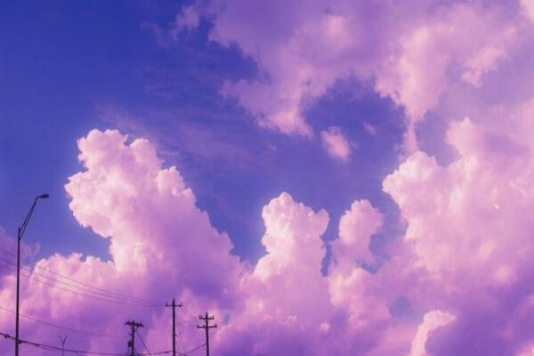 Hình nền đám mây nhẹ nhàng cho máy tính