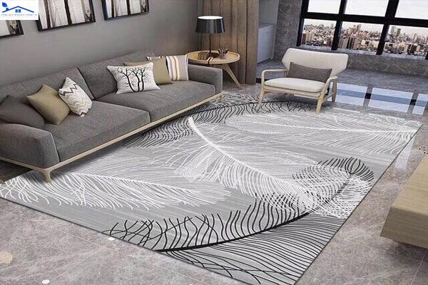 Thảm trải sàn theo phong cách hiện đại