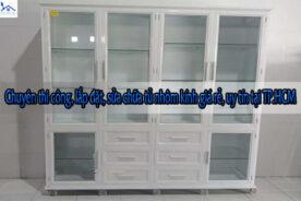 Chuyên thi công, lắp đặt, sửa chữa tủ nhôm kính giá rẻ, uy tín tại TP.HCM