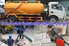 Rút hầm cầu quận Gò Vấp chuyên nghiệp – nhanh chóng – uy tín – giá rẻ