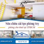 Sửa chữa cải tạo phòng trọ, phòng cho thuê tại TPHCM